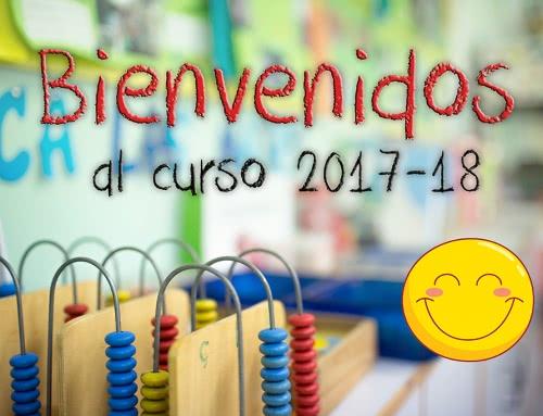 Bienvenidos al curso 2017/18