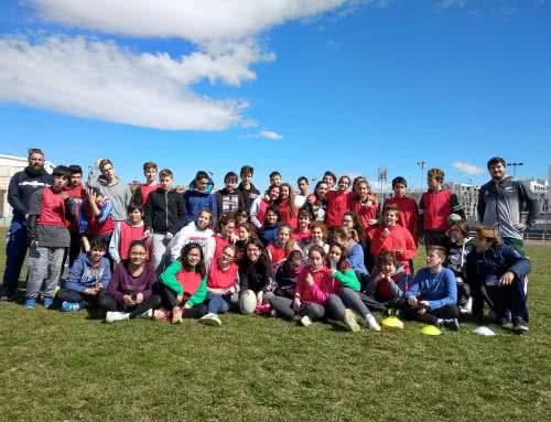 Rugby en La Granja 1º y 3º ESO