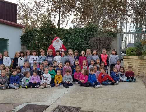 Papá Noel visita nuestro colegio