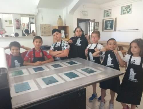 3º y 4º de primaria en Fuendetodos