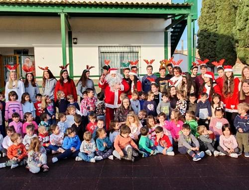 Papá Noel visita el Colegio Don Bosco