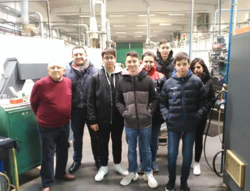 Visita del área de Tecnología de 4º ESO a la empresa «Mecanizados Luna Gregorio»