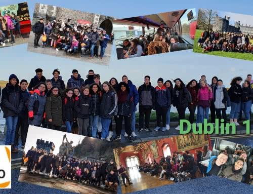 3º y 4º de ESO en el viaje de estudios a Dublín